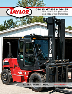 GT-165 Industrial Lift Truck Brochure