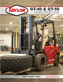 GT-40Industrial Lift TruckBrochure