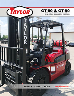 GT-80 Industrial Lift Truck Brochure