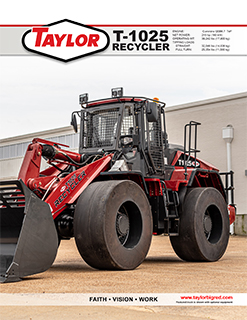 Taylor T-1025 Recycler Brochure