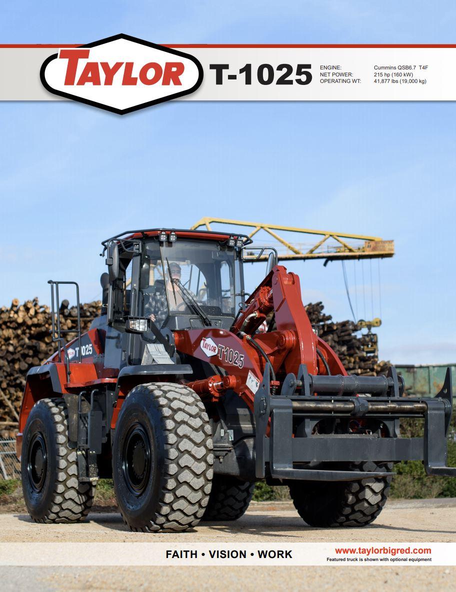 Taylor T-1025 Brochure