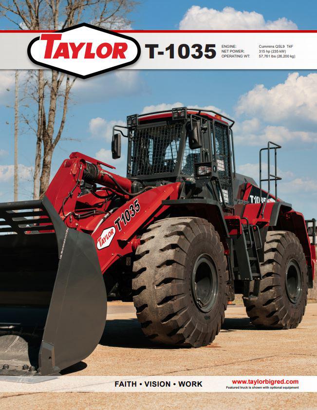Taylor T-1035 Brochure