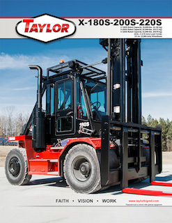 X-200S Heavy Duty Forklift Brochure