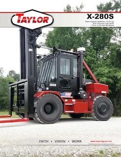 Taylor X-280S Brochure