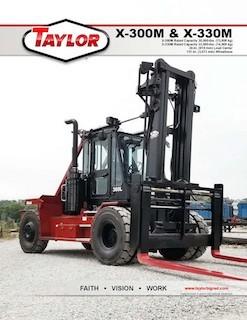 Taylor X-300M Brochure