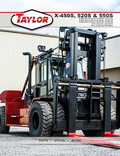 X-520S Heavy Duty Forklift Brochure