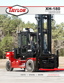 XH-180 Heavy Duty Forklift Brochure