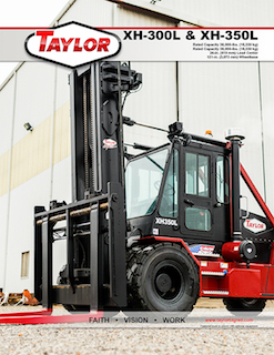 XH-300L Heavy Duty Forklift Brochure