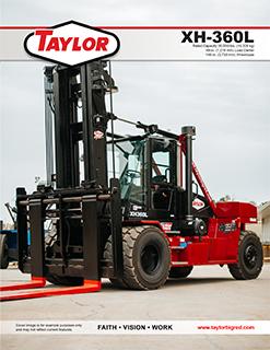 Taylor XH-360L Brochure