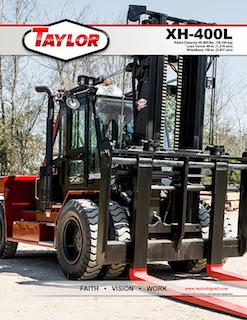 Taylor XH-400L Brochure