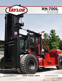 Taylor XH-700L Brochure