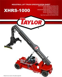 XHRS-1000Container HandlerBrochure