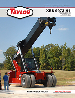 Taylor XRS-9972H1 Brochure