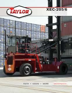 Taylor XEC-205/6 Brochure