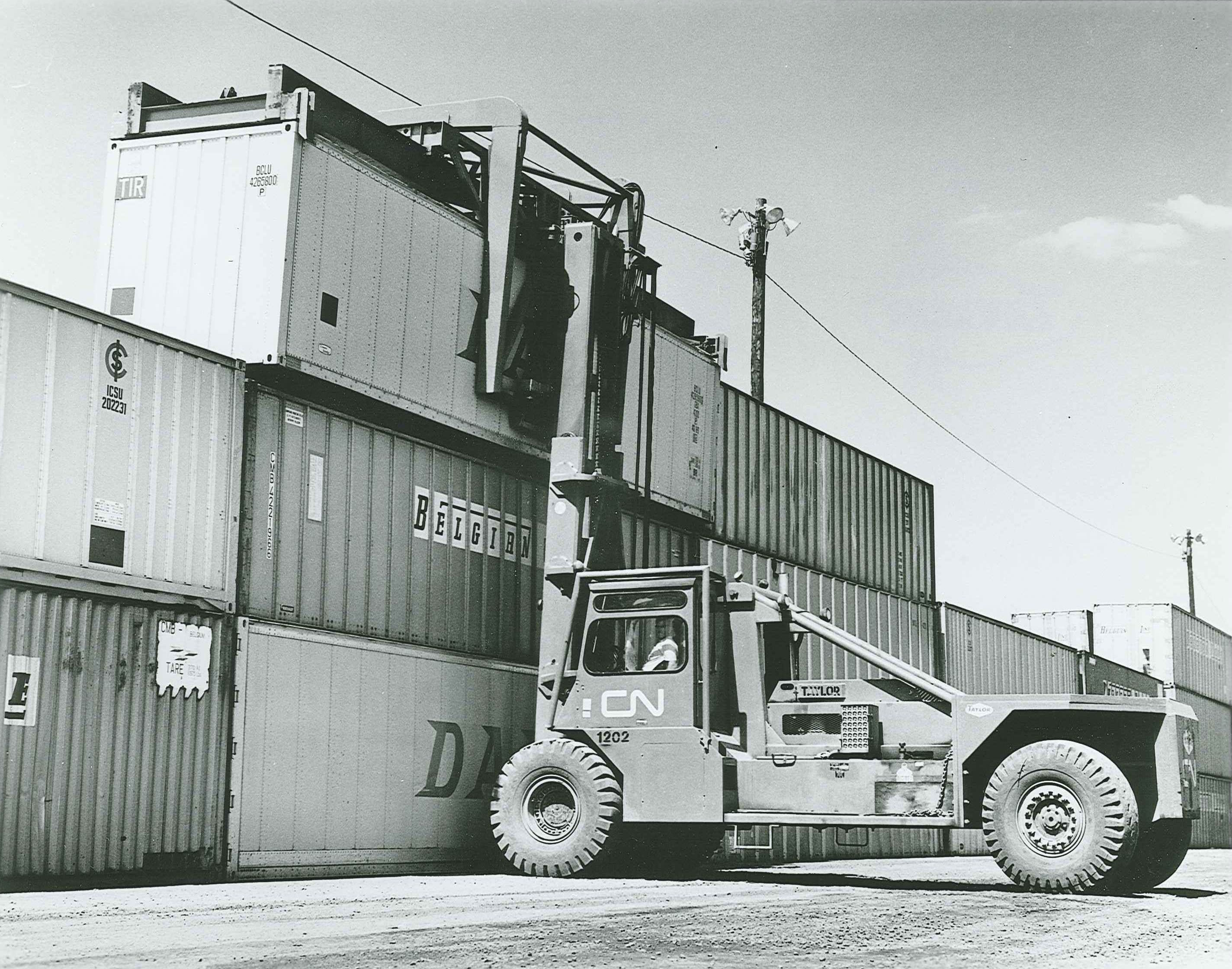 First Container Handler