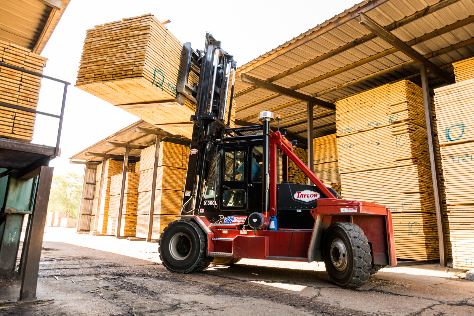 Wood Industry Forklifts
