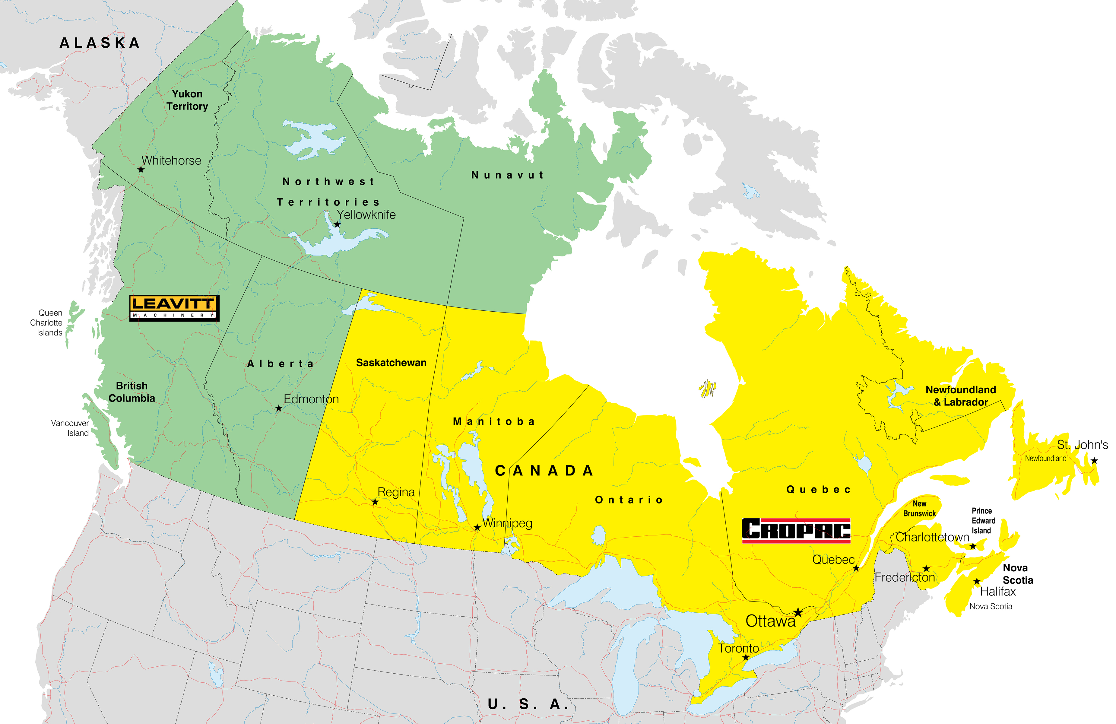 Map Of Canada With Territories.Taylor Sales Territory Ca