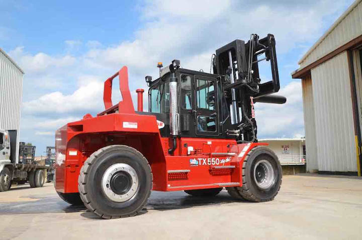 X-550RC Heavy Duty Forklift