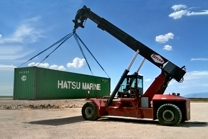 XRS-9972H1 Container Handler