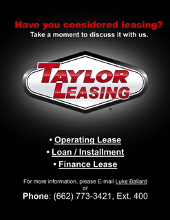 TAYLOR LEASING
