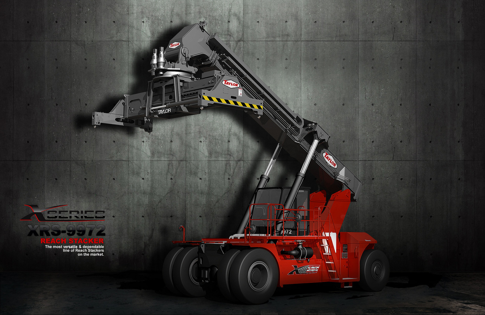 Reachstacker | TAYLOR PRODUCTS