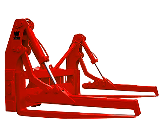 Pipe Forks with Individual Top Clamp