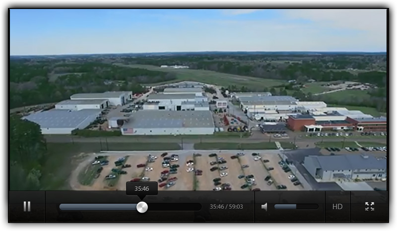 Aerial Photo of the Taylor Big Red Manufacturing Plant Louisville MS